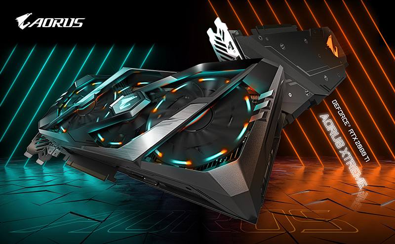 جيجابايـت تُصـدر سـلســلة كروت الجـرافيـك AORUSGeForce®RTX20